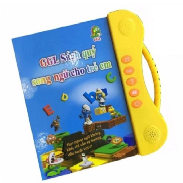 Bộ Sách Nói Song Ngữ Anh Việt Cho Bé