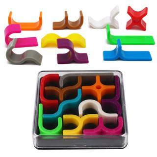 3D Zcube Colorful Plastic Platter Intellectual