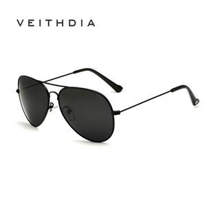 Kính mát VEITHDIA 3026 HD chống UV400 thời trang cổ điển