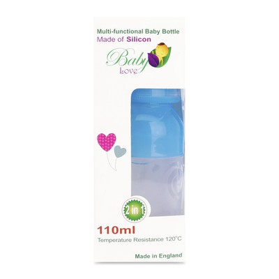 Bình sữa Baby Love BPA Free 2in1 110ml- sale 40%