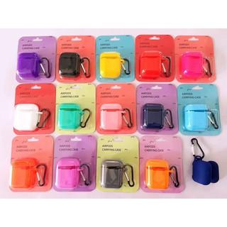 [Tặng kèm móc khoá] Case airpods 1 2 trơn màu chất liệu silicone thumbnail