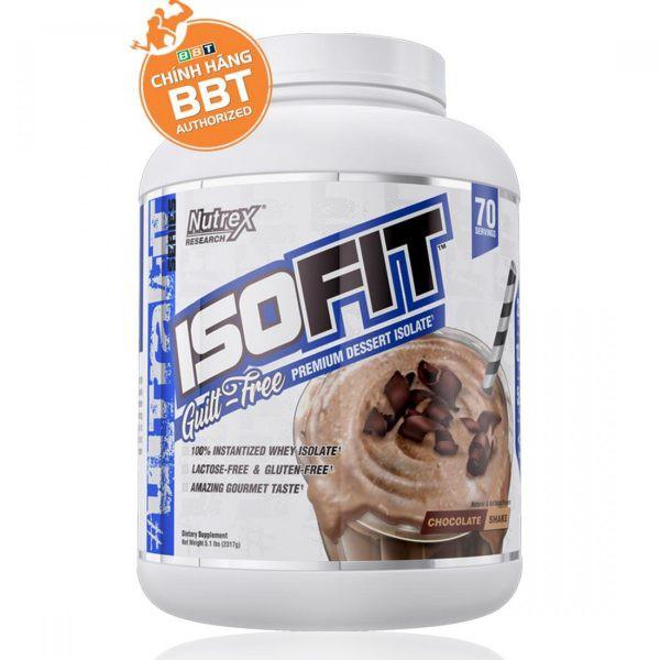 Tăng Cơ Bắp Nutrex ISOFIT - Whey Protein tinh khiết đẳng cấp nhất cho gymer