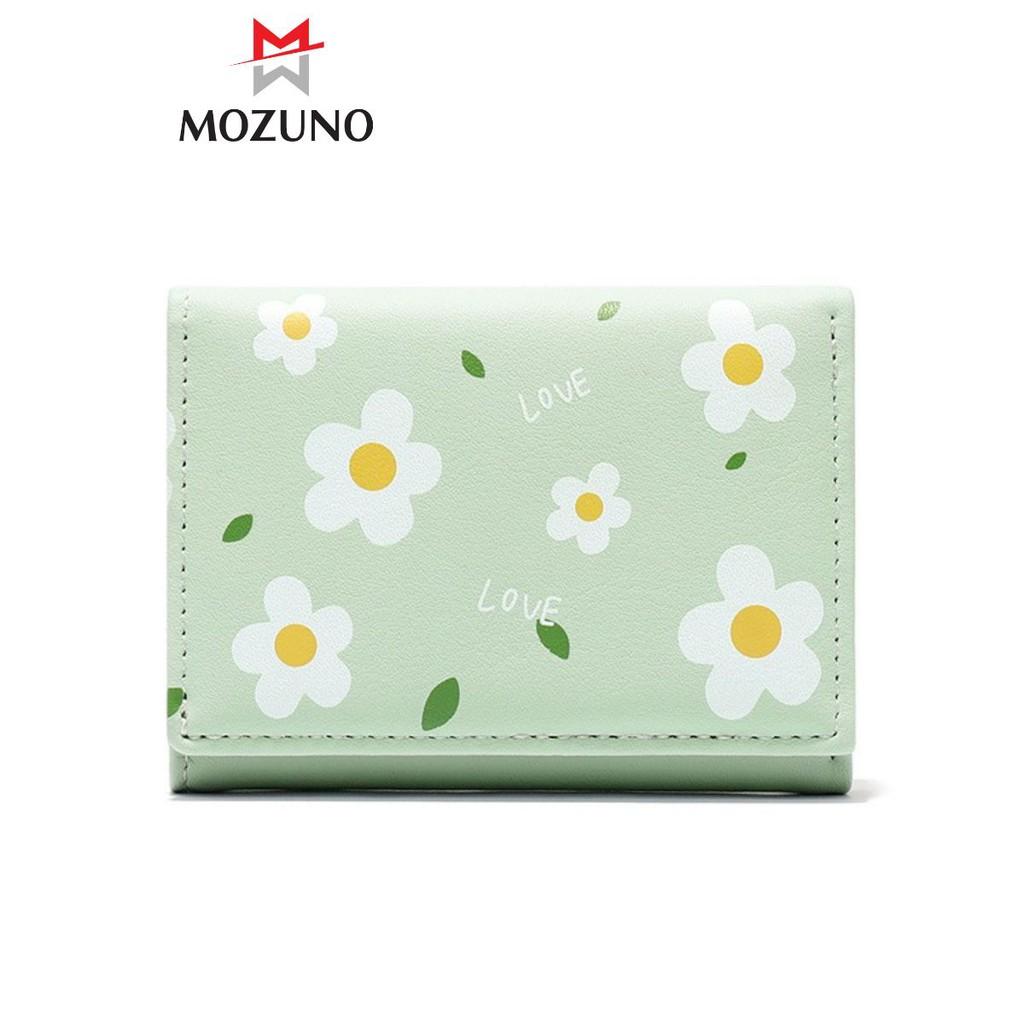 Ví Nữ Ngắn Mini Cầm Tay Chính Hãng TAOMICMIC Hoạ Tiết Hoa Nhài Kute Cực Hót Siêu Đẹp TM01 - Mozuno