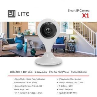 Camera IP Xiaomi Xiaoyi Yi Lite X1 Full HD1080P thumbnail