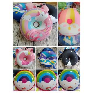 HÀNG LOẠI 1- Balo đi học hình bánh donut dễ thương cho bé trai và gái