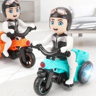 Xe mô tô ba bánh đồ chơi có phát sáng