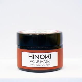 Mặt nạ giảm mụn, giảm sưng, gom cồi mụn và ngăn ngừa mụn Hinoki Acne Mask Zakka Naturals 40g thumbnail