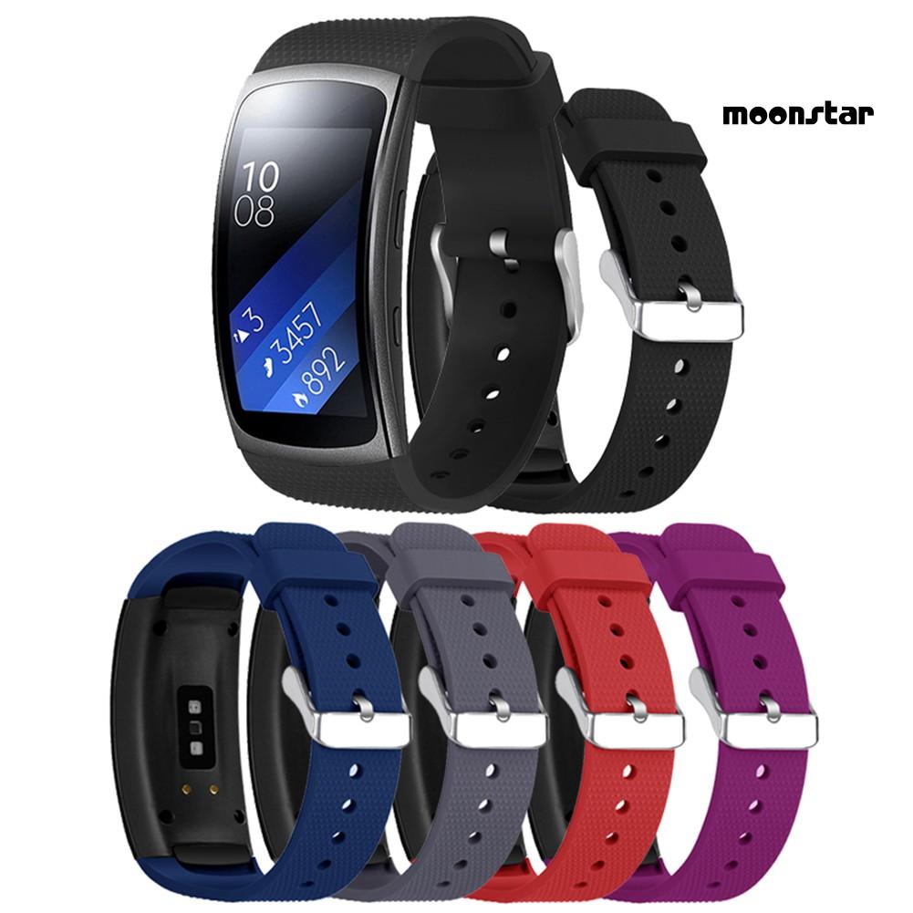 SAMSUNG Dây Đeo Silicon Thay Thế Cho Đồng Hồ Thông Minh Samsung Gear Fit2 Pro