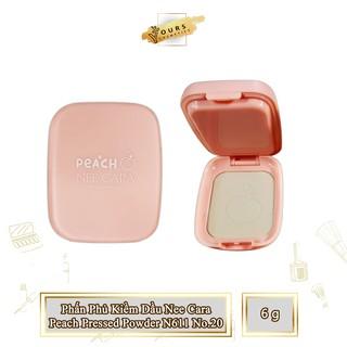 [Auth Thái] Phấn Phủ Kiềm Dầu NeeCara Dạng Bột Tông Tự Nhiên Peach Pressed Powder N611 No.21 Phấn Phủ Kiềm Dầu Thái Lan thumbnail