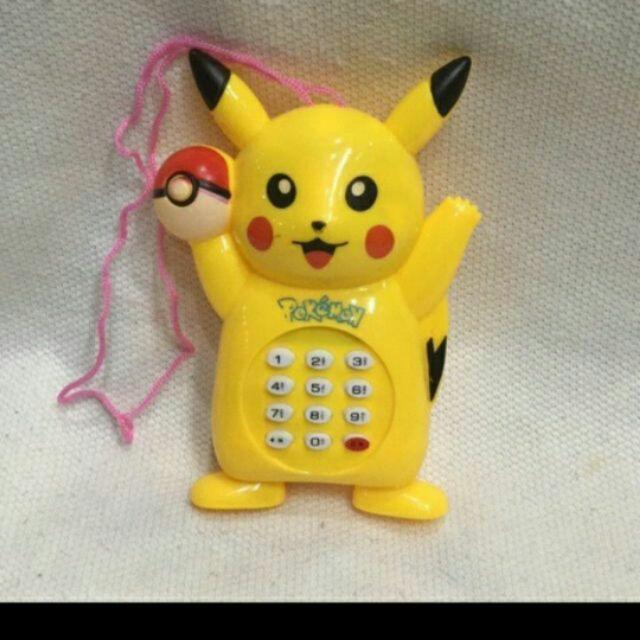 Combo 10 điện thoại Pichu bàn cầm tay dùng pin có nhạc