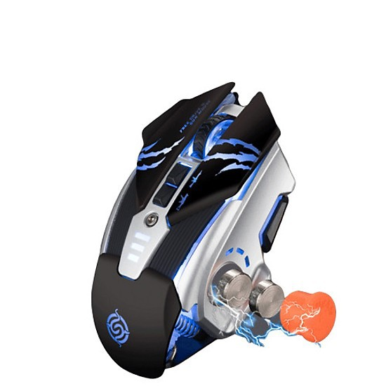 Chuột không dây chuyên game pin sạc Led 7 màu K-SNAKE BM400 CHUỘT ĐỈNH CHO DÂN PUBG & FPS