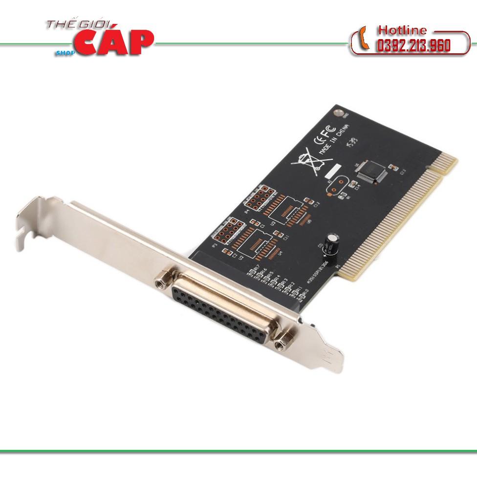 Card chuyển đổi PCI - LPT (Xanh)