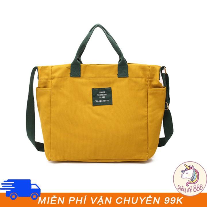 Túi vải có thể đeo chéo Living Travelling - A107