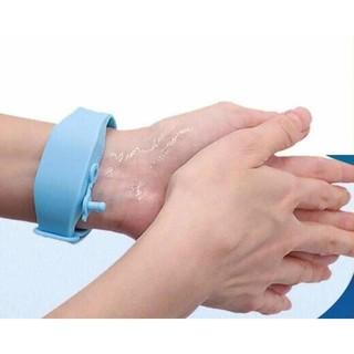 Vòng đeo tay đựng dung dịch sát khuẩn, vòng tay giúp rửa tay nhanh Giadungbpm 7