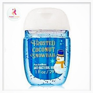 Gel rửa tay khô Bath & Body Works Frosted Coconut Snowball 29ml thumbnail
