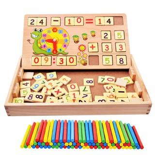 Bảng gỗ cho bé học toán giúp bé phát triển trí thông minh