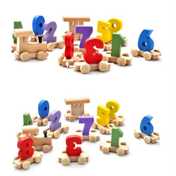 Đồ chơi gỗ - Đoàn tàu số