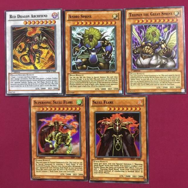 """Thẻ bài yugioh TRUNG QUỐC, thần rồng """"Red Dragon Archfiend"""""""