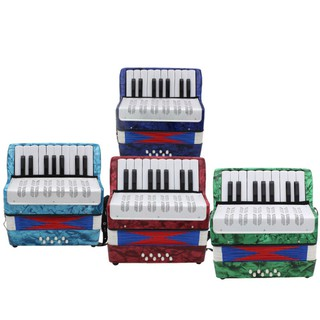 17 Key Professional Mini Accordion Educational Musical Instrument for Both Kids