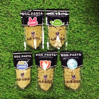 [Mã MKBCS01 hoàn 8% xu đơn 250K] Nui trứng Egg Pasta ALB Gold Nhật 90gr cho bé 7m+ thumbnail