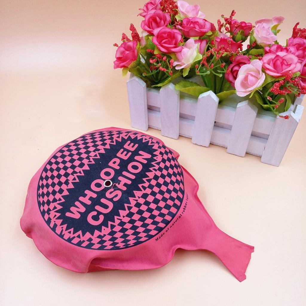 Bao Đánh Rắm - Whoopee Cushion (Màu Hồng) - Muasamhot1208
