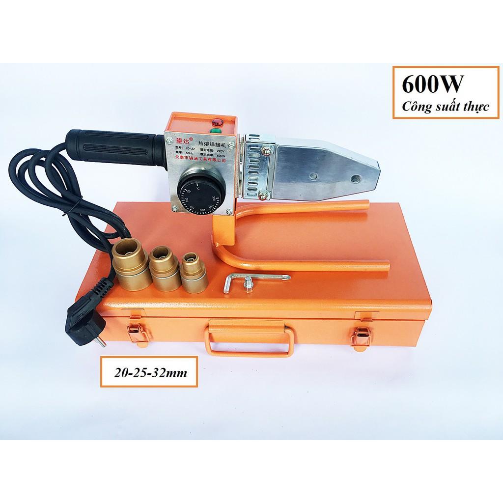 máy hàn ống nhựa chịu nhiệt Wangda WD-004 đầu hàn 20-32mm, Công suất Thực 600W đáp .