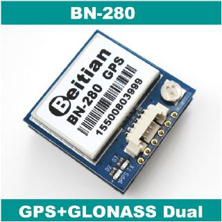 【Original】BN-280 UART TTL Level GPS GLONASS Dual GNSS Module UBLOX M8030 NEO-M8N Solution