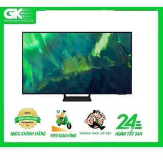 QA55Q70A-MIỄN PHÍ CÔNG LẮP ĐẶT-Smart Tivi QLED 4K 55 inch Samsung QA55Q70A Mới 2021 thumbnail