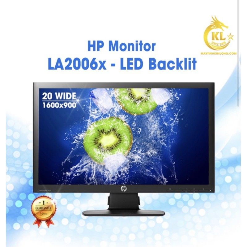 Màn hình LCD HP LA2006 20inch - Chân Bắt Ốc - Likenew 97%