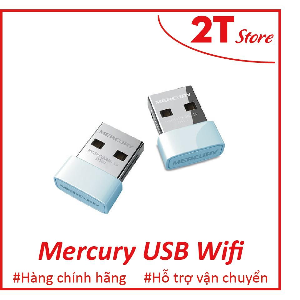 USB thu wifi cho laptop, máy tính bàn Mercury