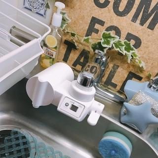 Lọc nước tại vòi Cleansui CB-073 chính hãng Nhật Bản bảo hành 1 năm