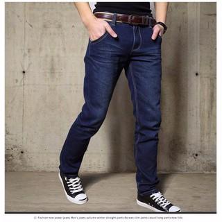 Quần Jean dài Nam Ống suông 03 màu cơ bản, form chuẩn đẹp - Có size Bự 50-90kg Jean003