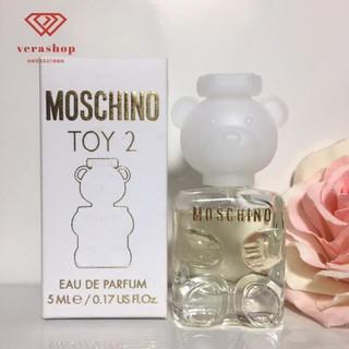 [xả kho] Nước hoa Moschino Toy 2 gấu trắng nhẹ nhàng tươi mát trẻ trung