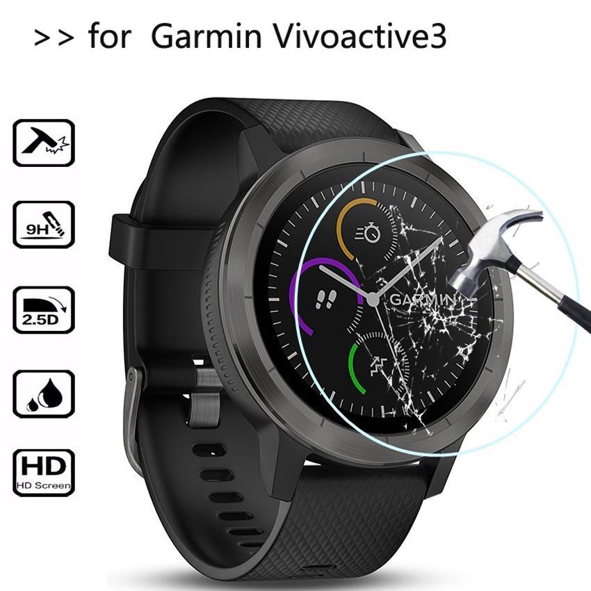 Kính cường lực cho đồng hồ Garmin Vivoactive 3