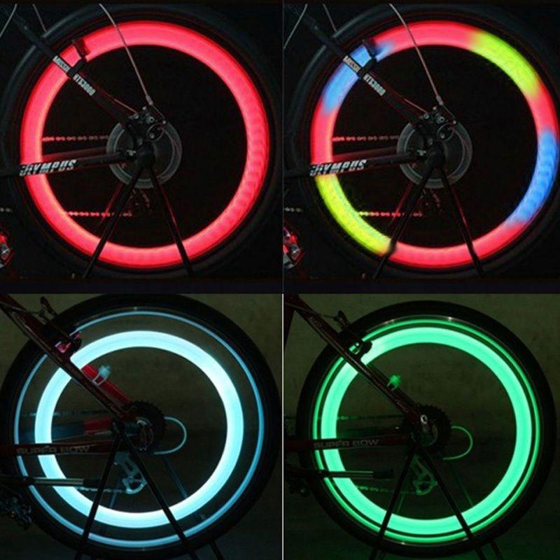 Đèn led gắn bánh xe Máy , xe Đạp chống Thấm Nước