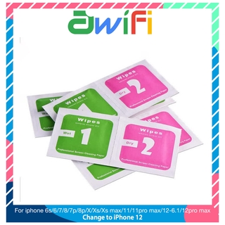 Giấy Lau 1 2 Cho Kính Cường Lực iphone 6/6plus/6s/6splus/7/7plus/8/8plus/x/xr/xs/11/12/pro/max/promax-Awifi Case A1-3