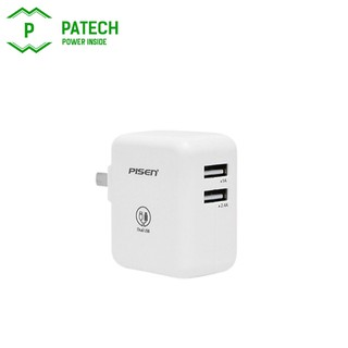 Sạc Pisen Dual Port 2.4A 17W – FAST CHARGERR