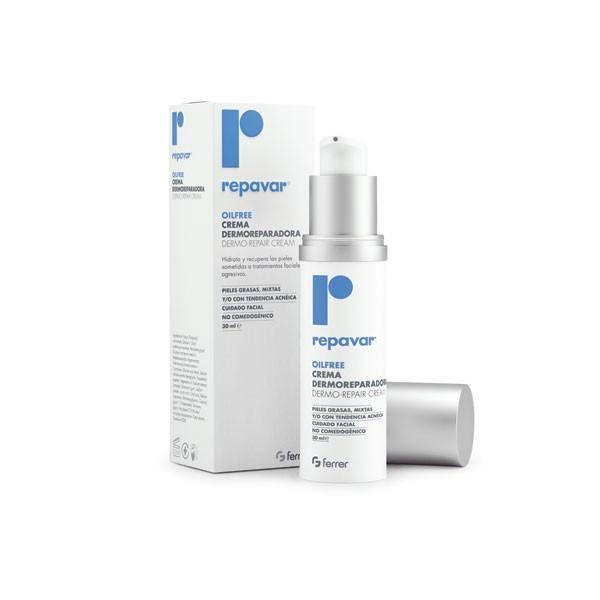 Kem dưỡng phục hồi da khô sau điều trị mụn - Oilfree Dermorepair Cream 30ml - Repavar