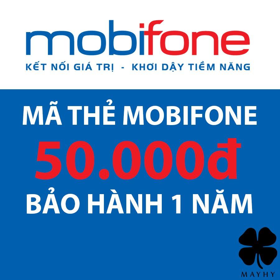 Mã Thẻ Mobifone 50.000