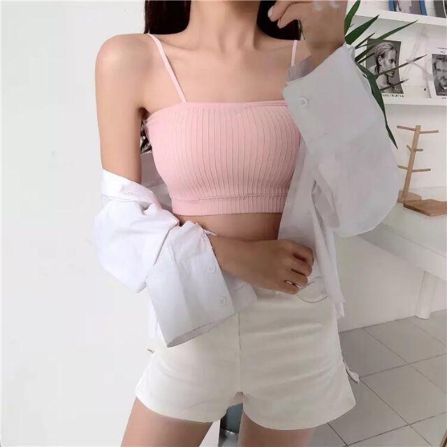 Áo Bra Quây Cotton Cho Bạn Gái 4 Màu