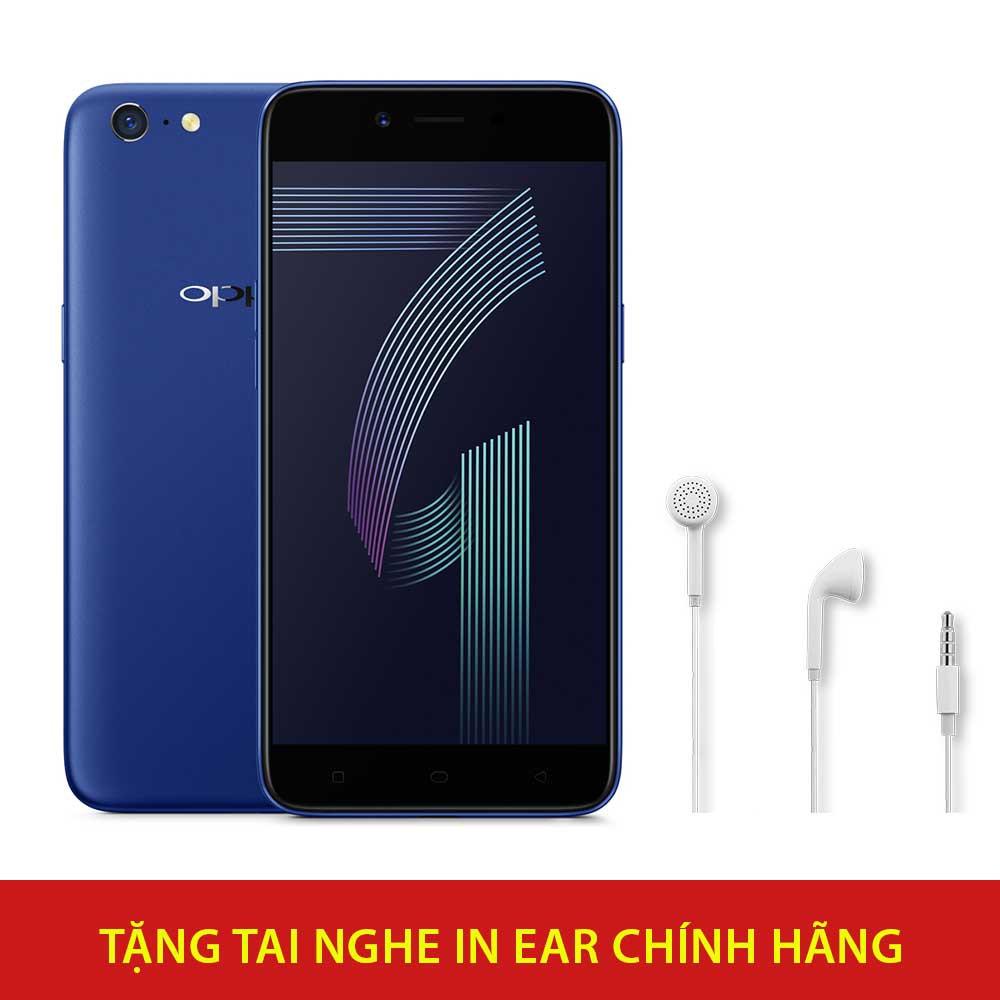 Điện thoại OPPO A71K - Hãng phân phối chính thức + Tai nghe in-ear chính hãng (MH133) - 3204191 , 1228117574 , 322_1228117574 , 3590000 , Dien-thoai-OPPO-A71K-Hang-phan-phoi-chinh-thuc-Tai-nghe-in-ear-chinh-hang-MH133-322_1228117574 , shopee.vn , Điện thoại OPPO A71K - Hãng phân phối chính thức + Tai nghe in-ear chính hãng (MH133)