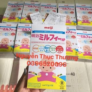 Sữa Meiji HP Nhật cho bé dị ứng đạm bò hộp giấy dạng thanh (hàng xách tay đủ bill store)