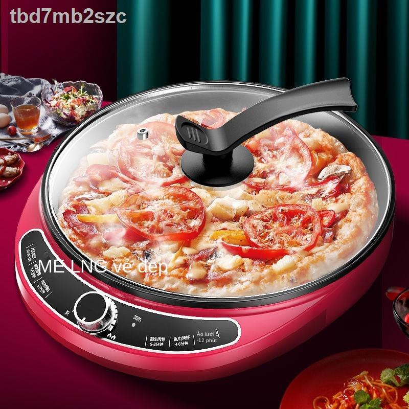 ❖◆Chảo nướng điện làm nóng và tăng nhiệt một mặt lò nướng bánh điện gia dụng Máy chiên và nướng bánh đa năng Chảo nướng