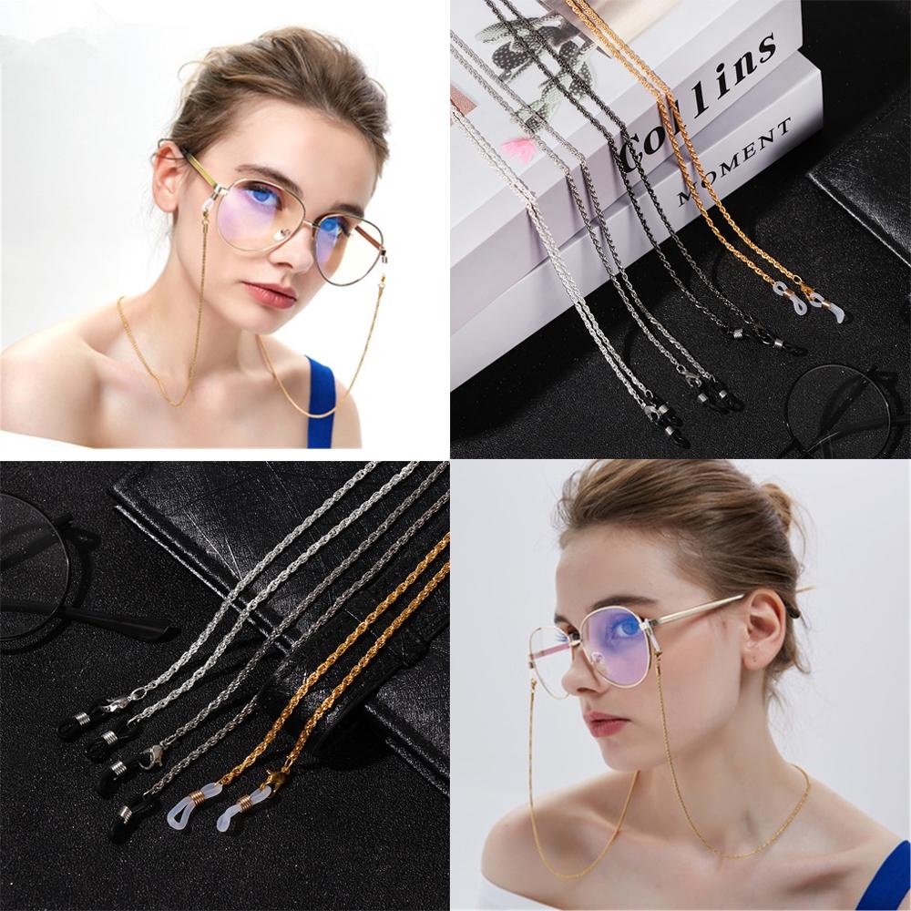 Dây đeo kính đọc sách chống trượt phong cách cổ điển tiện lợi