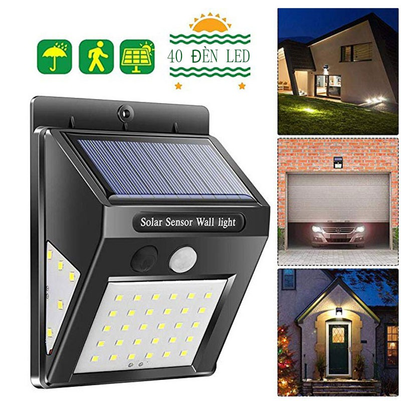 270°Đèn năng lượng mặt trời Đèn LED 30+5+5 IP 65 Ngoài trời Cảm Biến Chuyển Động Đèn Cho Sân Vườn Hàng Rào Sân Nhà Để Xe