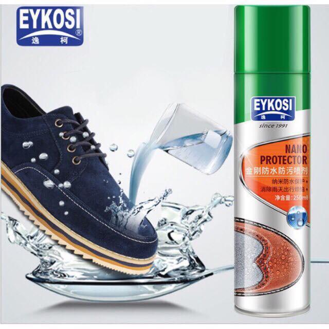 Xịt giày nano chống thấm nước và chất bẩn ( có video hướng