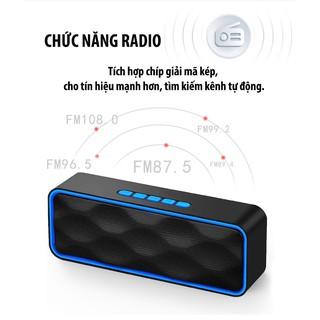 [FREESHIP] Loa Bluetooth Siêu Trầm, Tích Hợp Loa Kép Cho ÂM Thanh Sống Động, Sắc Nét