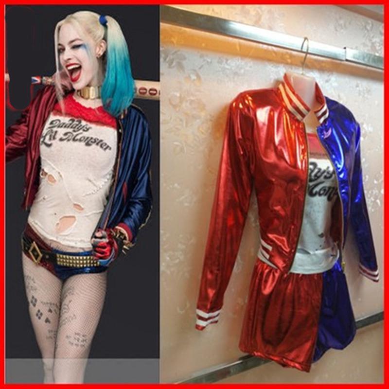 Tóc Giả Cosplay Harley Quinn