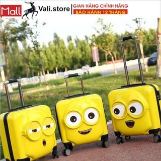 vali du lịch cho bé SIÊU RẺ 2021 valy kéo trẻ em đựng đồ hành lí xách tay 18 inch nhỏ nhẹ thumbnail