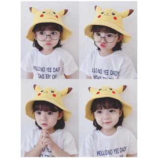 Mũ Cho Bé tai bèo Pikachu